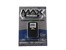 PS2™ MAX Memory 16MB  Memory Card