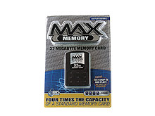 PS2™ MAX Memory 32MB Memory Card