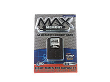 PS2™ MAX Memory 64MB Memory Card