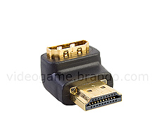 HDMI Male to HDMI Female Adapter (90 degree)