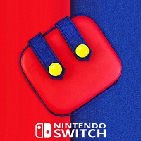 Nintendo Switch SINGULAB Mario Design - Joy-Con Airform Pouch