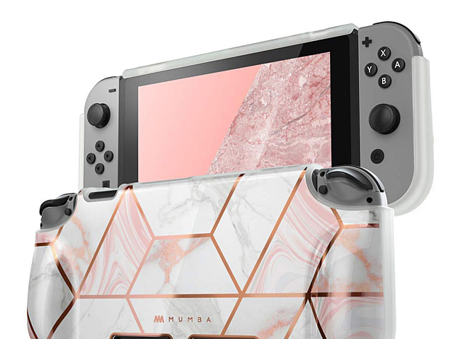 Mumba Soft TPU Grip Case (Marble) for Nintendo Switch