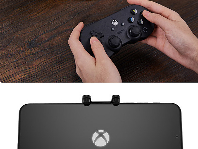 8Bitdo SN30 Pro Gamepad Xbox Cloud Android/PC + Clips