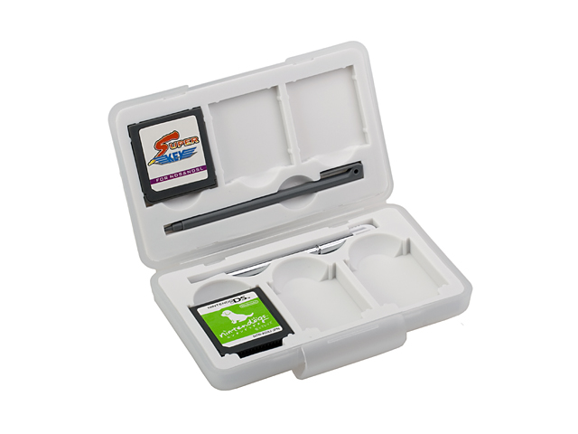 Silicon Games Case with Stylus for NDS Lite