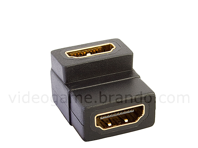 HDMI Female to HDMI Female Adapter (90 degree)