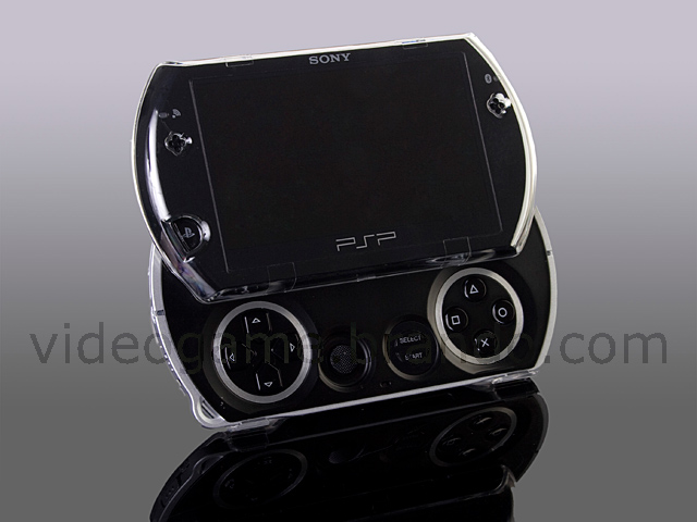 PSP go Crystal Case with Stand