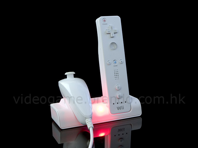 Wii Rechargeable Battery & Charger Stand