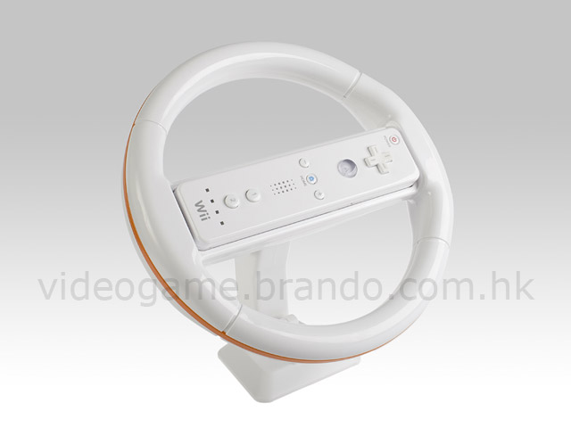 Wii Steering Wheel with Stand