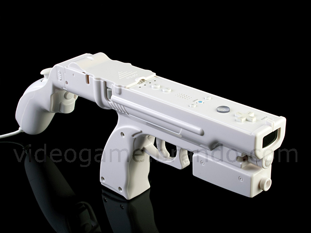 Wii 2 in 1 Combined Light Gun II